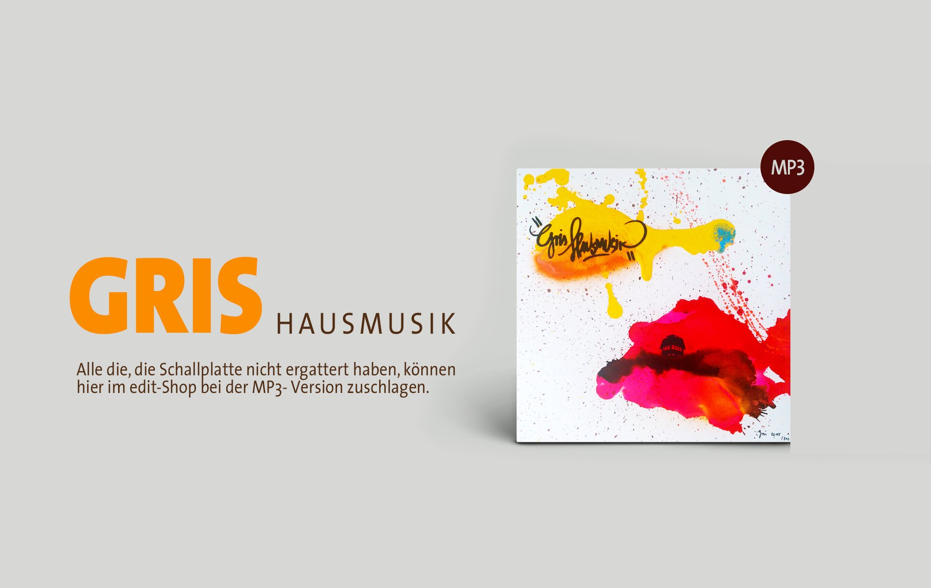 GRIS Hausmusik MP3