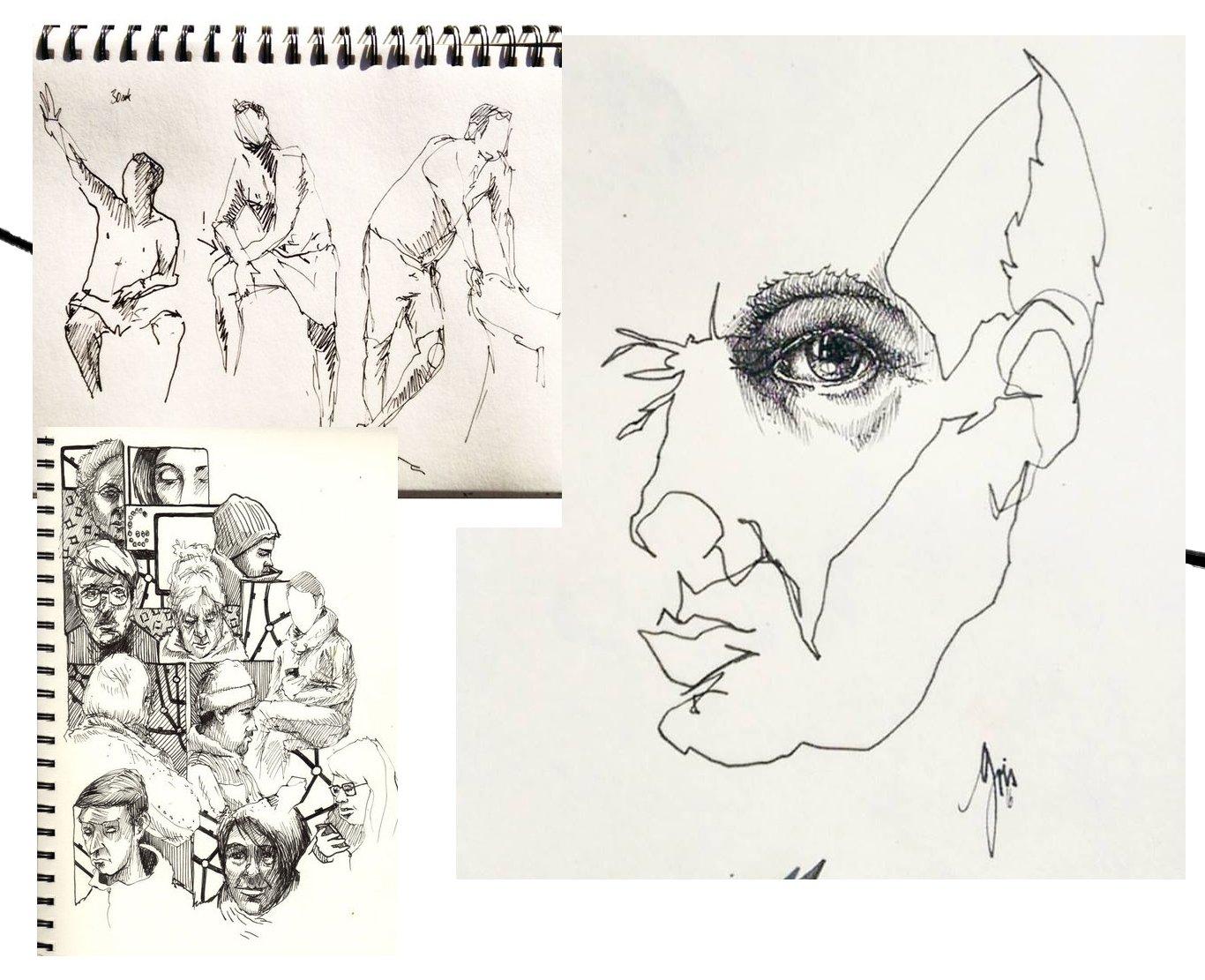 Workshop Zeichnen @Grishaus