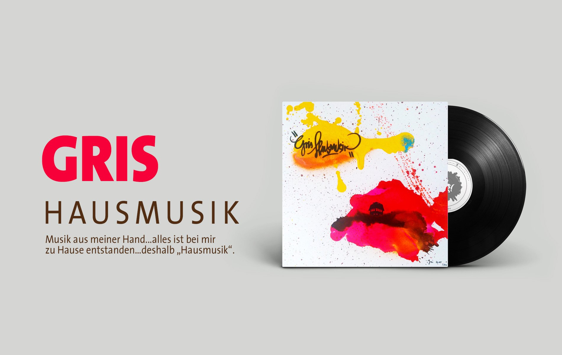 GRIS Hausmusik Vinyl