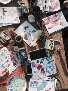 aquarell workshops malreisen berlin